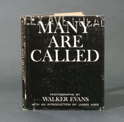 Walker Evans: Many are Called, first edition