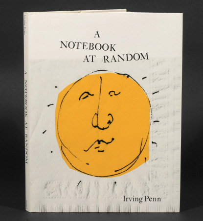 Irving Penn: Notebook at Random, first edition signed by Penn