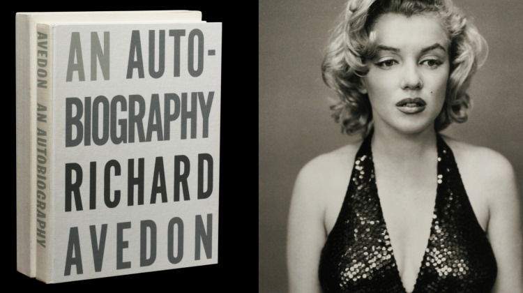 Richard Avedon: An Autobiography, first edition, signed, with Marilyn Monroe proof