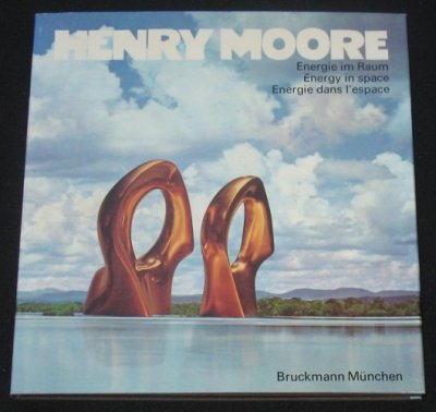 Henry Moore: Energy in Space with signed lithgraph