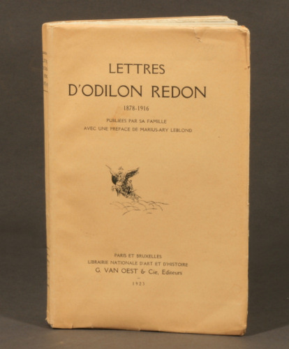 Odilon Redon: Lettres, first edition