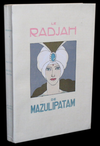 Le Radjah de Mazulipatam, illustrated by Umberto Brunelleschi