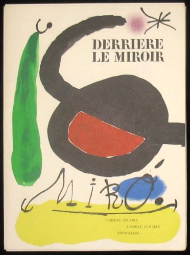 joan miro derriere le miroir with five original lithographs