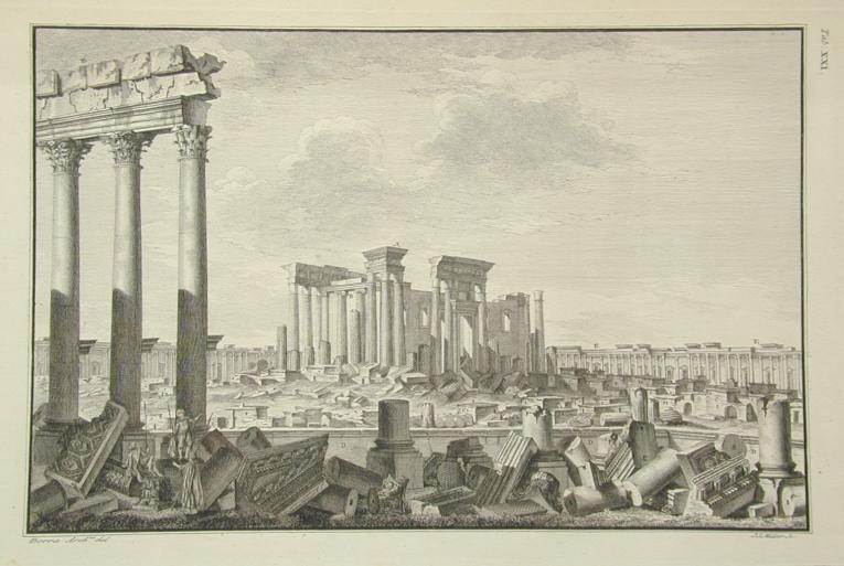 Robert Wood's Ruins of Palmyra, first edition