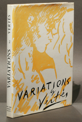Marcel Vertes: Variations, first edition with signed lithograph